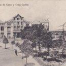 Postales: HUESCA PLAZA DE CAMO Y GRAN CASINO (ESCRITA) . Lote 160168090