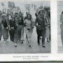 Postales: ZARAGOZA- VOLUNTARIOS Y MILICIANAS -1936-GUERRA CIVIL-RECORTE REVISTA(FOTO KEYSTONE. Lote 160261434