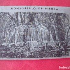 Postales: MONASTERIO DE PIEDRA.-EDICIONES GARCIA GARRABELLA.-ZARAGOZA.-POSTALES.. Lote 160464814