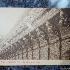 Postales - Postal de Monasterio de Poblet. El Pilar. Detalle del Coro. - 160984526