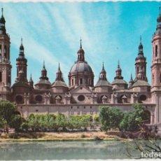 Postales: ZARAGOZA, TEMPLO DE EL PILAR, FACHADA POSTERIOR - GARCIA GARRABELLA Nº 742 - S/C. Lote 160985002