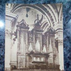 Postales - Postal de Monasterio de Poblet. El Pilar. Órgano. - 160985610