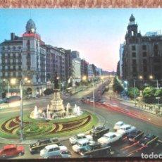 Postales: ZARAGOZA - PLAZA DE ESPAÑA. Lote 161209614