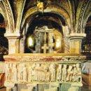 Postales: RODA DE ISABENA (HUESCA), SARCOFAGO DEL OBISPO SAN RAMÓN DE RODA, SIGLO XII. Lote 161274702