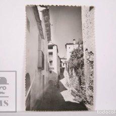 Postales: POSTAL FOTOGRÁFICA ANIMADA - BOLTAÑA. 5, CALLE SAN PEDRO - ESCRITA AL DORSO. Lote 162684670