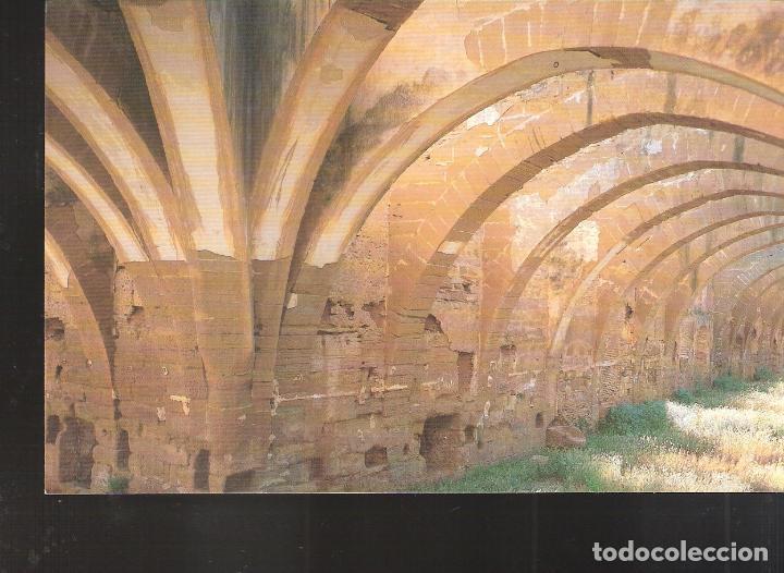 DORMITORIOS.SIGLO XII. MONASTERIO DE SANTA MARÍA DE SIGENA. VILLANUEVA DE SIGENA. HUESCA. (Postales - España - Aragón Moderna (desde 1.940))