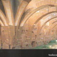 Postales: DORMITORIOS.SIGLO XII. MONASTERIO DE SANTA MARÍA DE SIGENA. VILLANUEVA DE SIGENA. HUESCA.. Lote 162768490