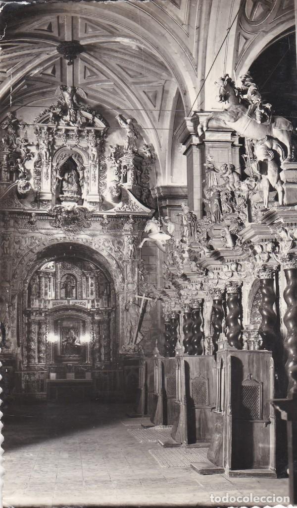 POSTAL DE CALATAYUD - DETALLE DEL CORO (Postales - España - Aragón Moderna (desde 1.940))