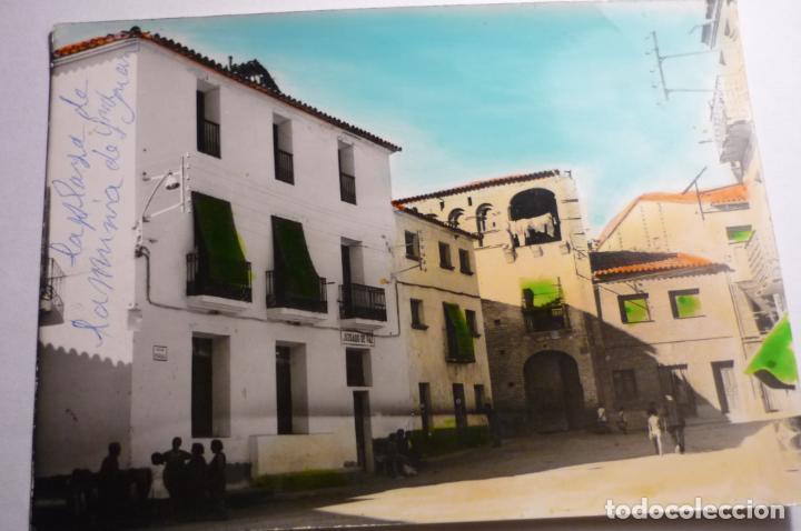 POSTAL COLOREADA ALMUNIA DE S.JUAN -HUESCA (Postales - España - Aragón Moderna (desde 1.940))