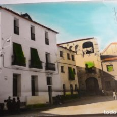 Postales: POSTAL COLOREADA ALMUNIA DE S.JUAN -HUESCA. Lote 163323670
