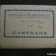 Postales: CANFRANC-MINI BLOCK CON 10 FOTOGRAFIAS ARTISTICAS-EDICIONES SICILIA-VER FOTOS-(V-16.836). Lote 163396982