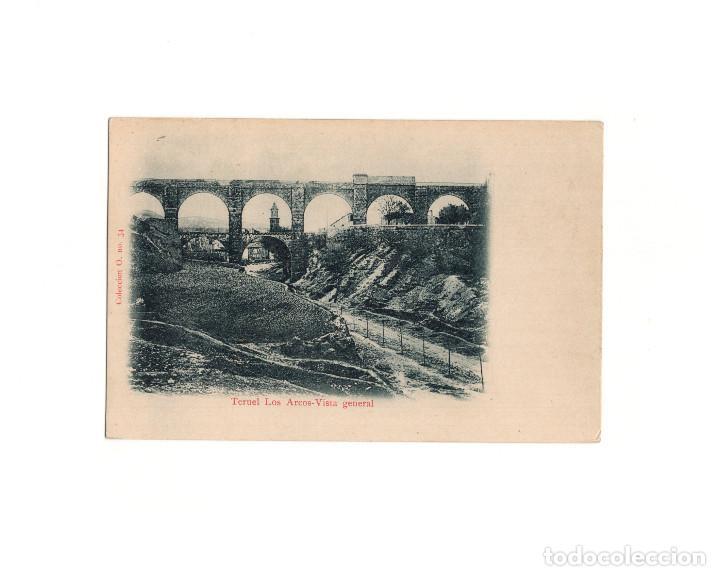 TERUEL.- LOS ARCOS. VISTA GENERAL (Postales - España - Aragón Antigua (hasta 1939))