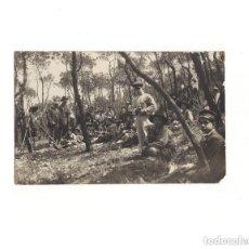 Postales: PIRINEO ARAGONÉS.(HUESCA).- BOY-SCOUTS. POSTAL FOTOGRÁFICA.. Lote 164087122