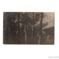 Postales: PIRINEO ARAGONÉS.(HUESCA).- BOY-SCOUTS. POSTAL FOTOGRÁFICA.. Lote 164087766