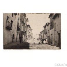 Postales: CALATAYUD.(ZARAGOZA).- POSTAL FOTOGRÁFICA. FOT. RODERO. CALLE. Lote 164088382