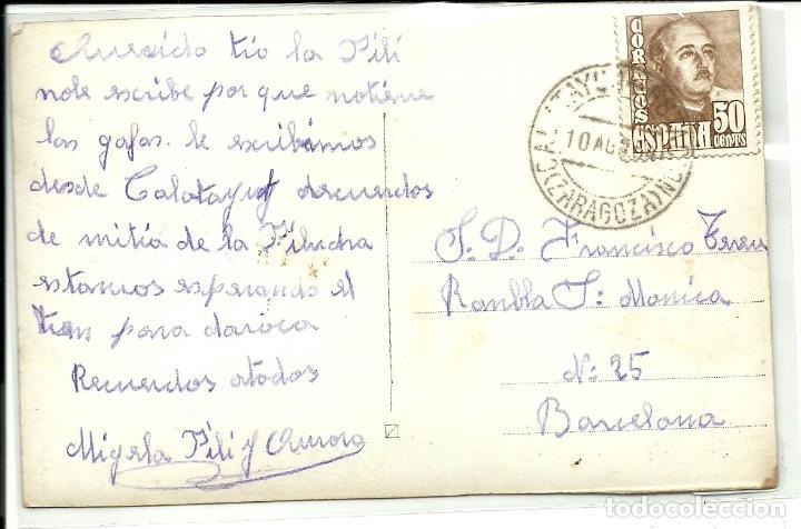 Postales: (PS-60345)POSTAL DE CALATAYUD-CASTILLO DE AYUB - Foto 2 - 164411602