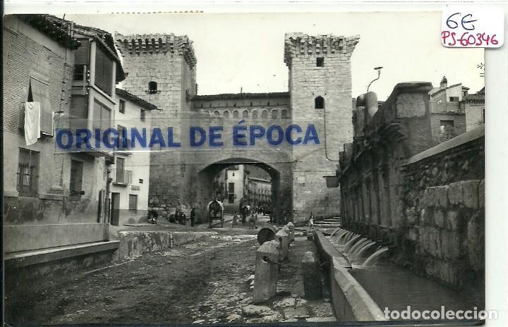 (PS-60346)POSTAL DE DAROCA-PUERTA BAJA Y FUENTE DE LOS 20 CAÑOS (Postales - España - Aragón Moderna (desde 1.940))