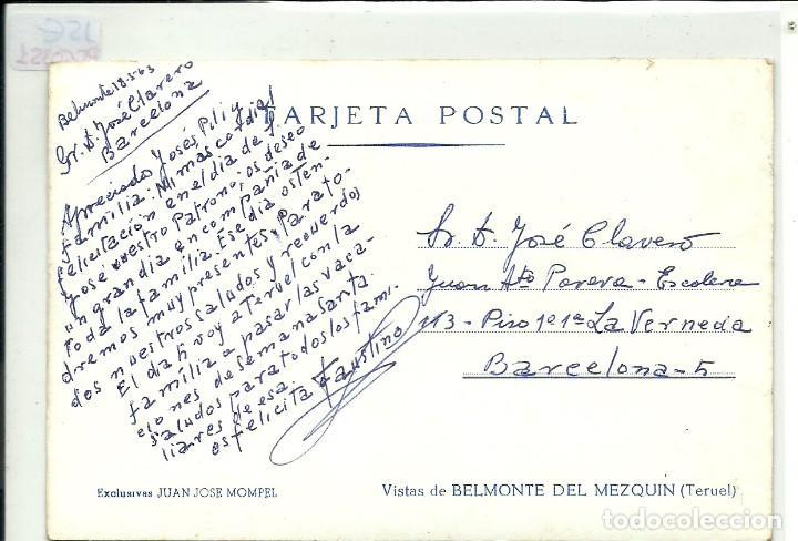 Postales: (PS-60351)POSTAL DE BELMONTE DEL MEZQUIN(TERUEL)-VISTAS - Foto 2 - 164414494