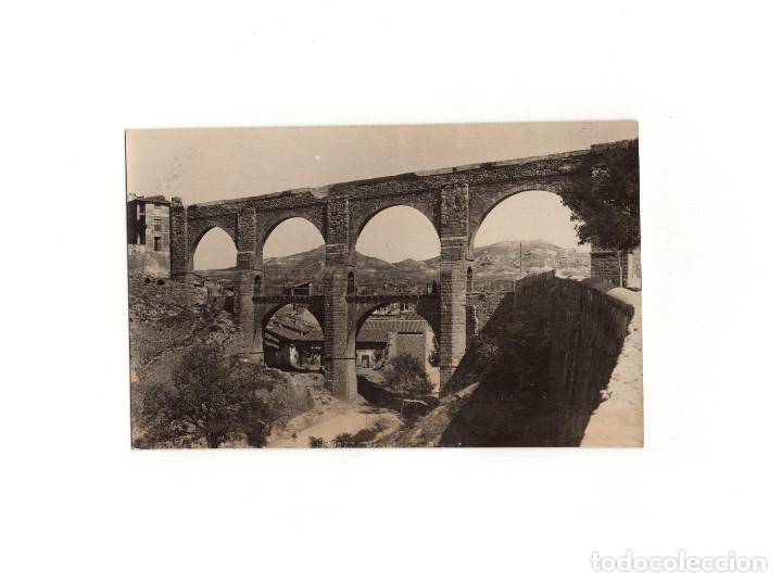 TERUEL.- ACUEDUCTO. POSTAL FOTOGRÁFICA. (Postales - España - Aragón Antigua (hasta 1939))