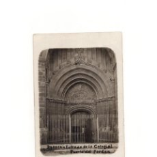Postales: DAROCA.(ZARAGOZA).- ENTRADA DE LA COLEGIAL PUERTA DEL PERDÓN.. Lote 164821506