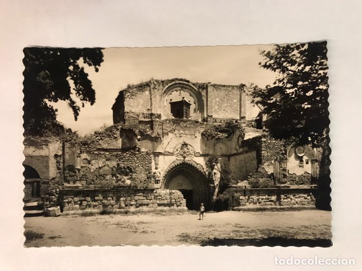 ZARAGOZA. MONASTERIO DE PIEDRA. NO.17, FACHADA DE LA ANTIGUA IGLESIA. EDITA: GARCIA GARRABELLA (Postales - España - Aragón Moderna (desde 1.940))