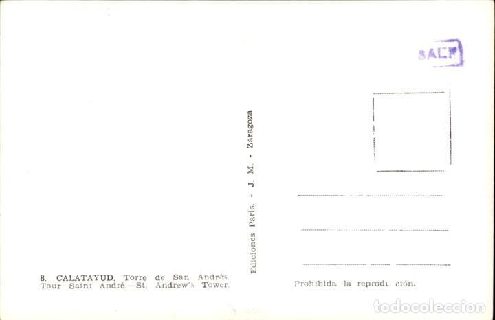 Postales: Aragon – Calatayud – Torre de San Andres. - Foto 2 - 165518102
