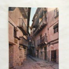 Postales: POSTAL. ALBARRACIN. TERUEL. TÍPICA CALLE DEL PORTAL DE MOLINA. ED. SICILIA. H. 1975?.. Lote 165942240