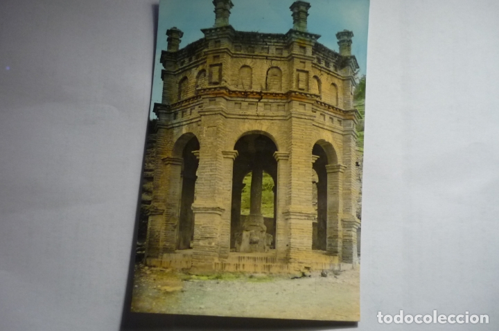 POSTAL TARAZONA -EL CRUCIFIJO .-COLOREADA--CM (Postales - España - Aragón Moderna (desde 1.940))