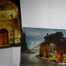 Postales: LOTE POSTALES ZARAGOZA CM. Lote 166052834