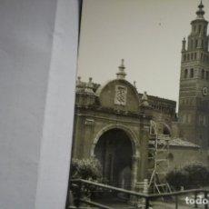 Postales: POSTAL TARAZONA FACHADA CATEDRAL CM. Lote 166054042