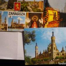 Postales: LOTE POSTALES ZARAGOZA CM. Lote 166054146