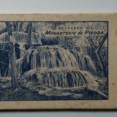 Postales: LIBRO 10 POSTALES MONASTERIO DE PIEDRA ZARAGOZA. Lote 166109642