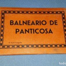 Postales: BALNEARIO DE PANTICOSA BLOC CON 10 POSTALES FOTOGRAFIAS BLANCO Y NEGRO VER FOTOS Y DESCRIPCION. Lote 166157670