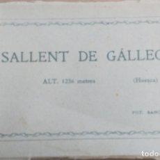 Postales: SALLENT DE GALLEGO, HUESCA, TACO O CUADENILLO CON 12 POSTALES, FOTO SANCHO. VER. Lote 166523526