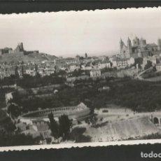 Postales: ALCANIZ-PLAZA DE TOROS-FOTOGRAFICA G.JARQUE SELLO EN SECO-VER REVERSO-(59.942). Lote 166837278