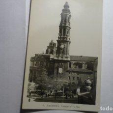 Postales: POSTAL ZARAGOZA - CATEDRAL DE LA SEO. Lote 166965452