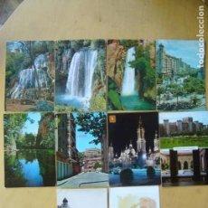 Postales: LOTE 29 POSTALES DE ZARAGOZA. Lote 167039356