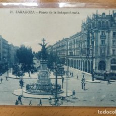 Postcards - ZARAGOZA. PASEO INDEPENDENCIA. 21 - 167617032