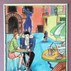 Postales: POSTAL LOS SITIOS DE ZARAGOZA. PLAZA DE SAN FELIPE. PATRONATO MUNICIPAL DE TURISMO. SIN CIRCULAR.. Lote 168196588