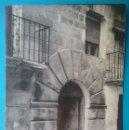 Postales: VALDEALGORFA POSTAL FOTOGRAFÍCA CALLE TERUEL AÑOS '60. Lote 168510420