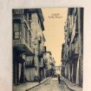 Postales: CASPE (ZARAGOZA) POSTAL ANIMADA, CALLE MAYOR. EDITA: M. PELLICER, CASPE (H.1940?) NO CIRCULADA. Lote 168525168