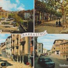Postales: BARBASTRO, VARIAS VISTAS DE LA CIUDAD - FOTO PEÑARROYA Nº 373 - ESCRITA. Lote 168853840
