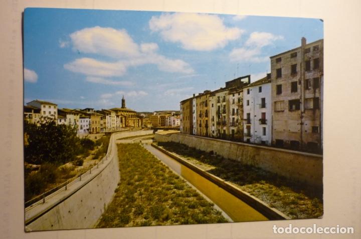POSTAL BARBASTRO - CANALIZACION RIO VERO Y S.FRANCISCO (Postales - España - Aragón Moderna (desde 1.940))