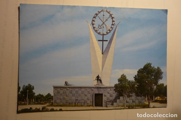 POSTAL ZARAGOZA,-PINARES VENECIA .-MONUMENTO A LA LEGION (Postales - España - Aragón Moderna (desde 1.940))