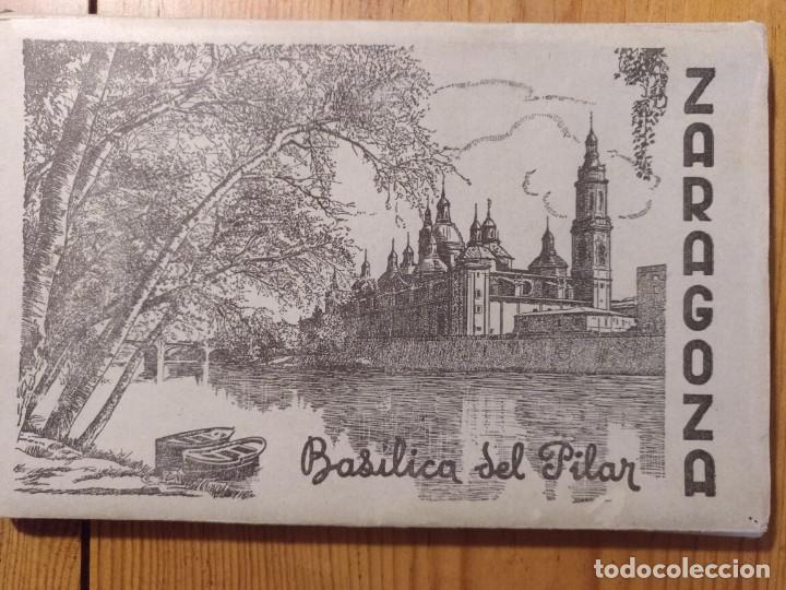 ZARAGOZA, EL PILAR, 10 POSTALES EN ESTUCHE DESPLEGABLE. (Postales - España - Aragón Moderna (desde 1.940))