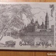 Postales: ZARAGOZA, EL PILAR, 10 POSTALES EN ESTUCHE DESPLEGABLE.. Lote 169101092