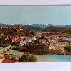 Cartoline: AINSA (HUESCA). VISTA GENERAL Y CONFL. DE LOS RIOS ARA Y CINCA (ED. SICIIA Nº 1) . Lote 169600084