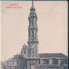 Postales: POSTAL ZARAGOZA - CATEDRAL DE LA SEO . Lote 169648088