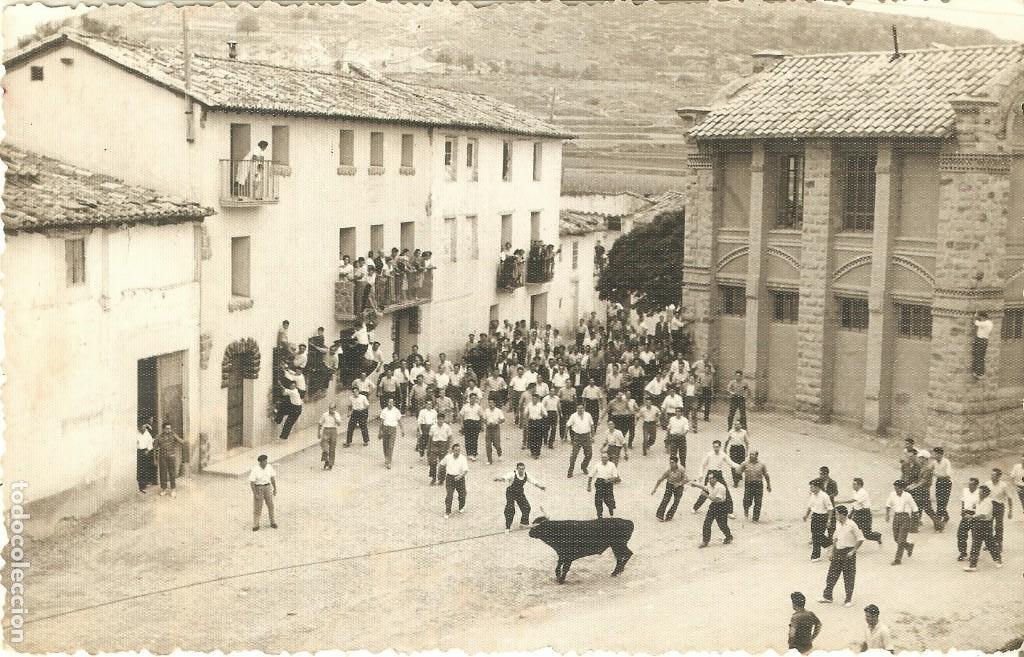 RUBIELOS DE MORA. TERUEL POSTAL FOTOGRÁFICA (Postales - España - Aragón Antigua (hasta 1939))