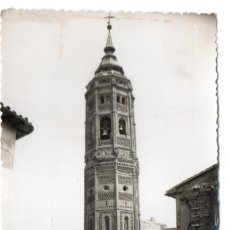 Postales: POSTAL DE CALATAYUD - TORRE MUDEJAR DE SAN ANDRÉS - ZARAGOZA. Lote 170254576